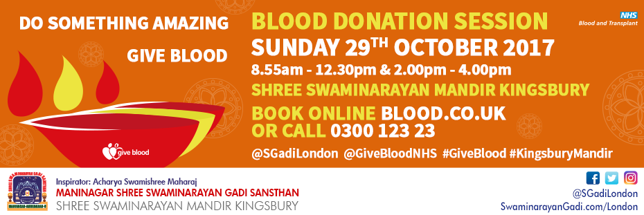 Blood Donations October 2017