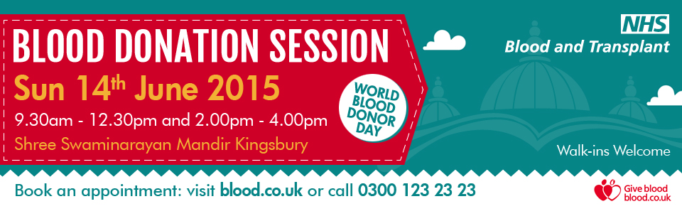 Blood Donations - 14th June 2015