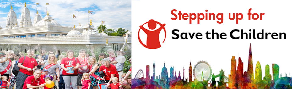 Stepping up for Save the Children Registration