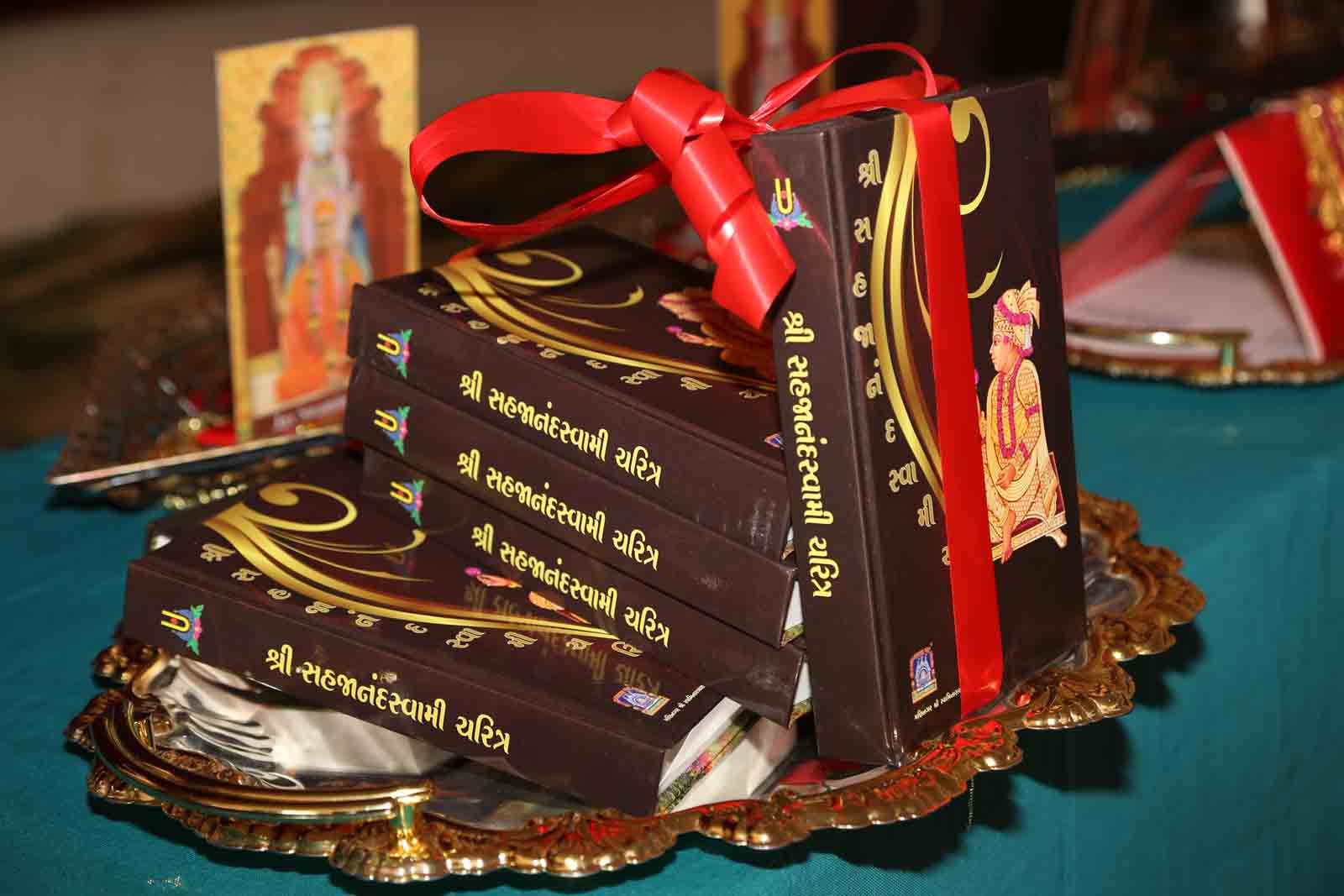 Inaugration of the new scripture 'Shree Sahajanand Charitra'