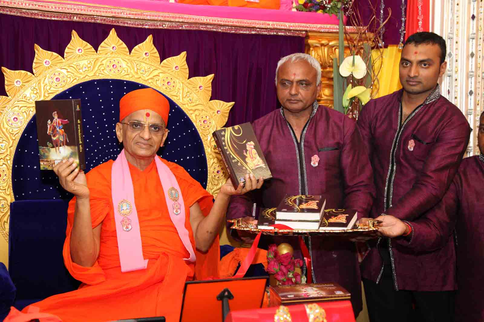 Inaugration of the scripture, 'Shree Sahajanand Charitra'