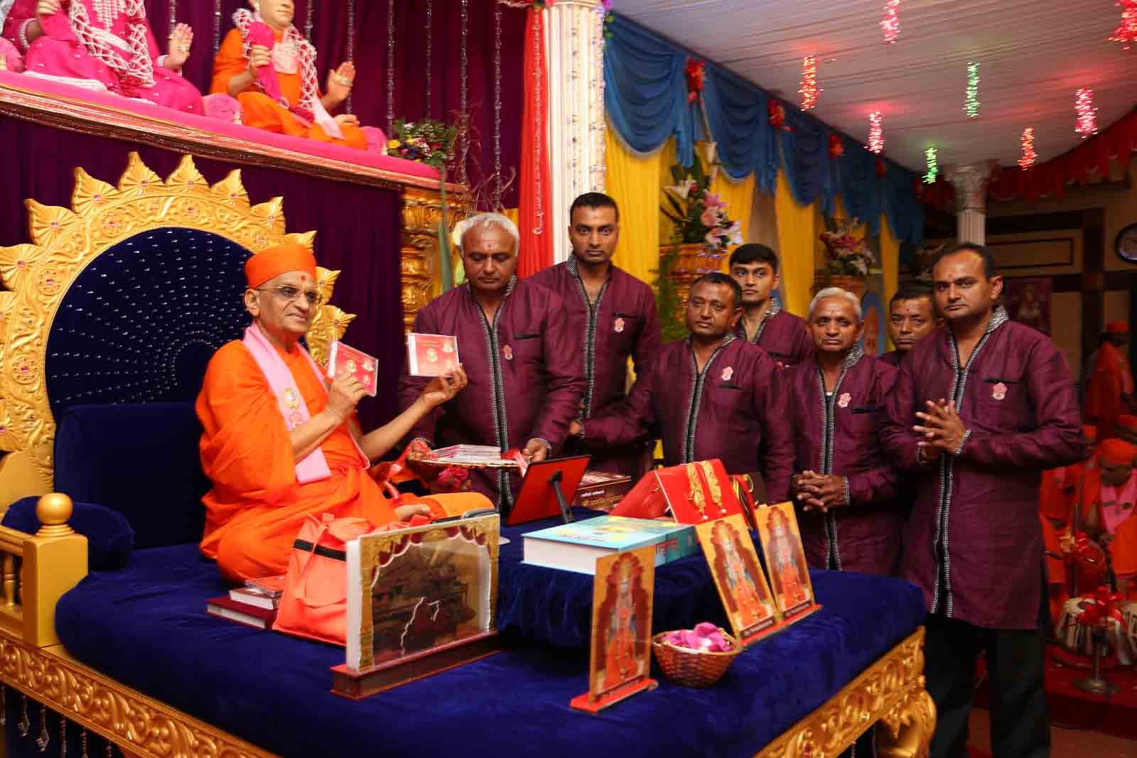 Inaugration of a new audio cd, ' Chitde Choti Murti Bapani'