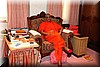 Divine Darshan of Acharya Swamishree in his room.