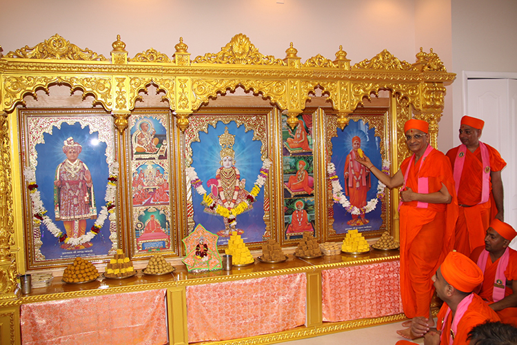 Inauguration of Shree Swaminarayan Mandir, Ocala, Florida