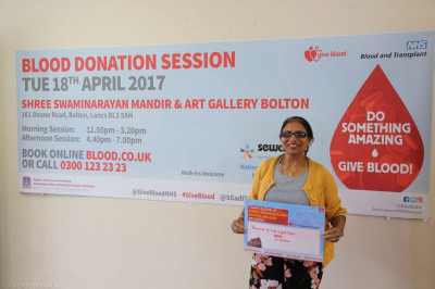 Disciples and local residents write about their blood donation experiences