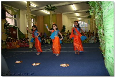 Young balikas dance.