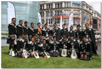 Shree Swaminarayan Gadi Pipe Band
