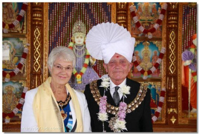 The Mayor and Mayoress of Bolton