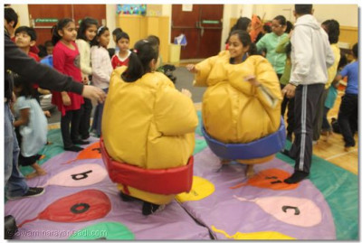 Sumo wrestling for all ages