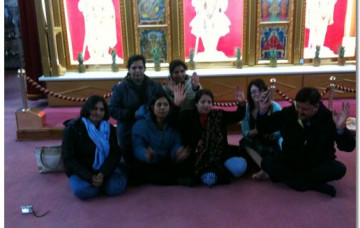Indian Teachers Visit's Shree Swaminarayan Temple in Bolton.