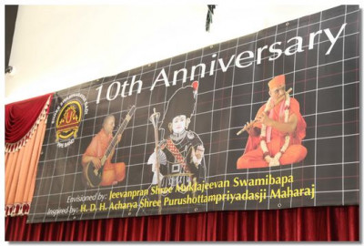 Shree Swaminarayan Gadi Pipe Band 10th Anniversary