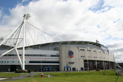 A view of the grand Macron stadium