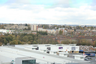 The view from Wembley Stadium.  Can you spot Shree Swaminarayan Mandir Kingsbury?