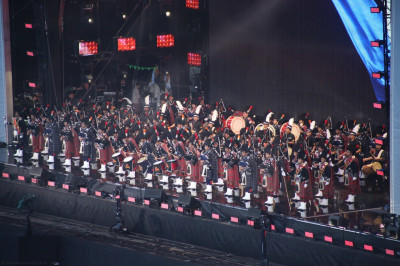 The Best performance of the Day by Shree Muktajeevan Swamibapa Pipe Band and Dhol acedamy. The stadia come to life during the performance and the audiance absolutly loved it.