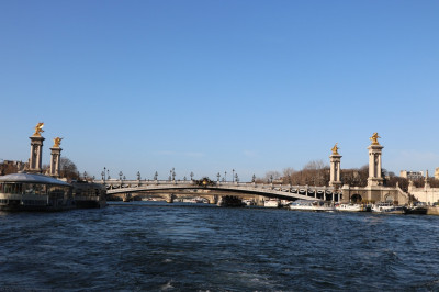 The view of the River Seine