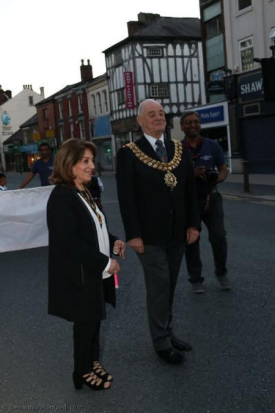 The Mayor of Bolton offers his support of the event