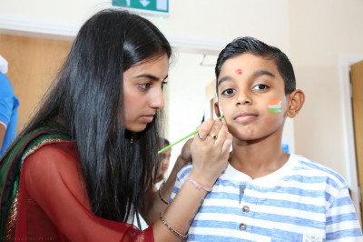 Disciples prepare young disciples for Indian independence day celebrations