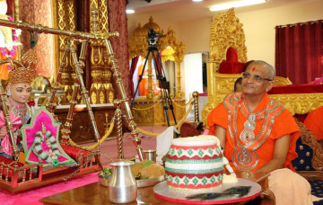 Janmashtmi at Shree Swaminarayan Mandir Bolton