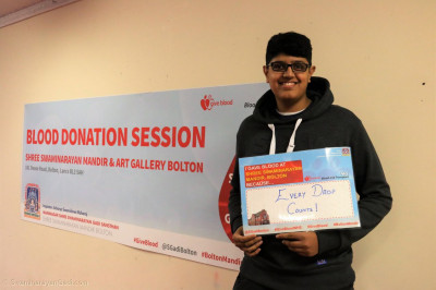 Disciples and members of the local community does something amazing - helping to save lives by donating blood