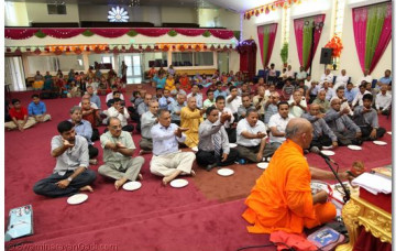 Day 1 - Los Angeles Murti Pratishtha Mahotsav