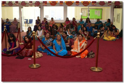 Devotees Gathered from all over the west coast of USA