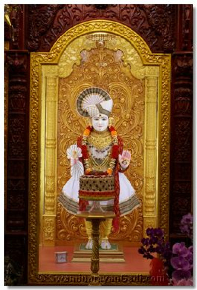 Divine Darshan of Lord Shree Swaminarayan
