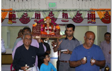 Gurupoonam Celebration at Los Angeles Mandir 2015