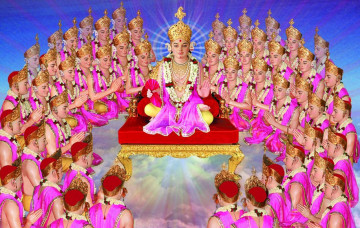 Shree Swaminarayan Gadi - Divine Ordination