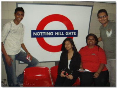 The winning team which took part in the Tube Chase competition