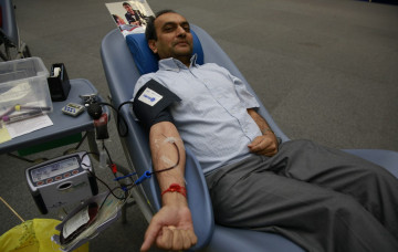 Shree Swaminarayan Mandir Kingsbury Blood Donation - Sunday 26 October 2014