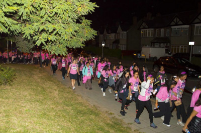 St Lukes Midnight Walk 2014