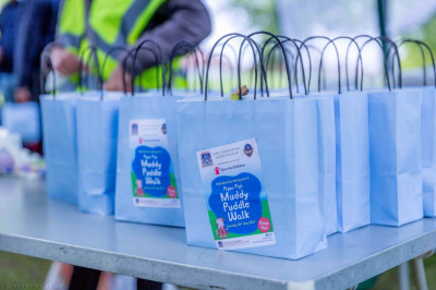 Peppa Pig goodie bags for all participants