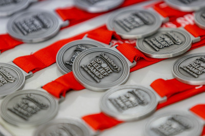 The Sport Relief medals