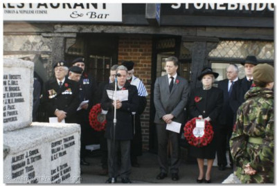 MPs and Mayors remember the fallen