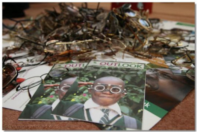 Spectacles collected during the Collectathon