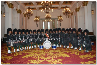 Shree Swaminarayan Gadi Pipe Band Bolton