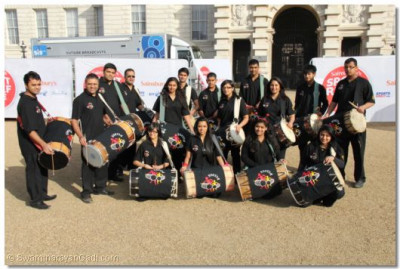 Shree Muktajeevan Dhol Academy at Ministry of Defence Admiralty Building Pall Mall