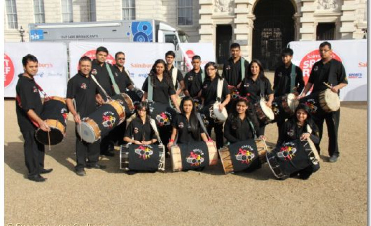 Sport Relief - The Golders Green Swaminarayan Gadi Temple Mile
