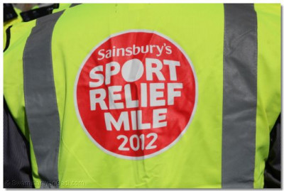 Sport Relief marshall's uniform