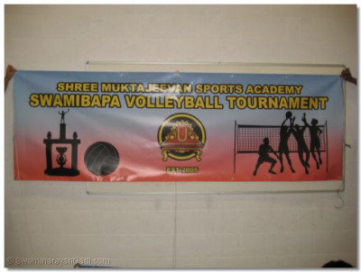 Shree Muktajeevan Sports Academy Volleyball Tournament