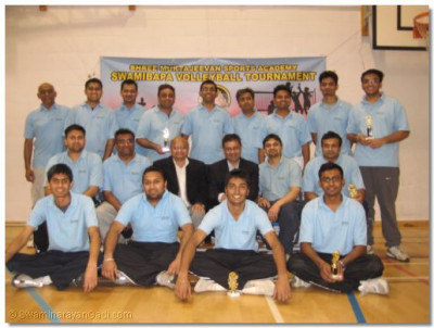 Swamibapa Volleyball Club members