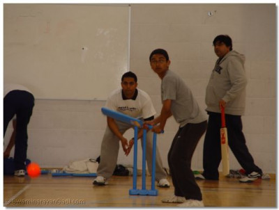 Batting session