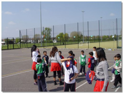 Coaches explain some rules of netball