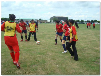 Teams in action in the group stages of the competition
