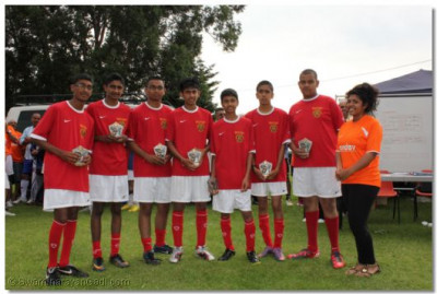 Under 16s runners up Swamibapa