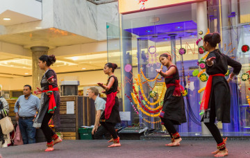 Diwali celebations at Brent Cross - London