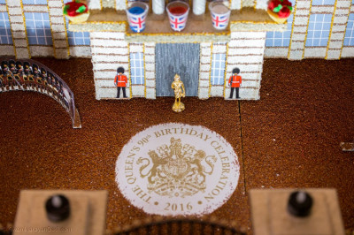 Buckingham Palace cake to make Queen Elizabeth's 90th birthday celebrations
