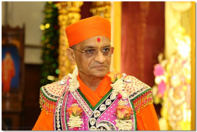 Divine darshan of His Divine Holiness Acharaya Swamishree