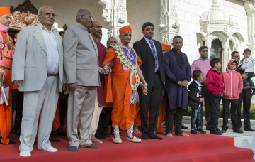 Shree Swaminarayan Mandir Kingsbury - Grand Opening - Day 2