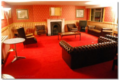 This room was previously used as the Director's lounge